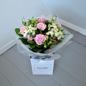 flowers hand tie bouquet for local delivery Corby Kettering