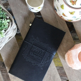 Handmade Leather Journal   My Book of